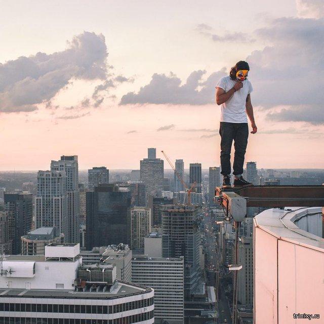 За шаг от смерти или непреодолимая тяга к высоте