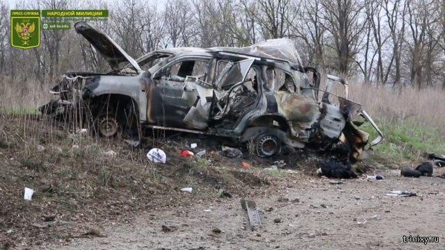 Представитель Кремля настаивает на тщательнейшем расследовании подрыва автомобиля ОБСЕ на Луганщине