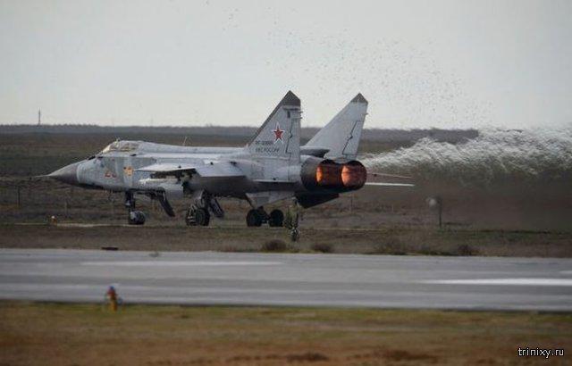 В Забайкалье потерпел крушение истребитель МиГ-31