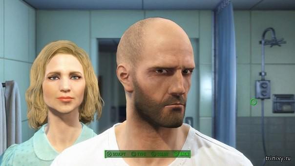 Знаменитости при помощи редактора персонажей из Fallout 4
