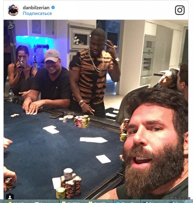 Игрок в покер и дебошир из США Дэн Билзерян стал героем мультфильма