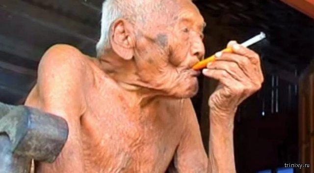 На Яве скончался 146-летний долгожитель Гото