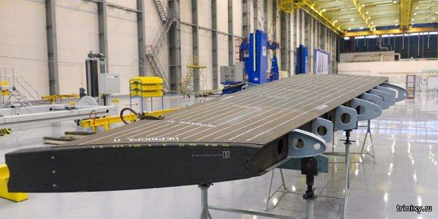 Новый самолет МС-21 почти готов к испытательному полёту