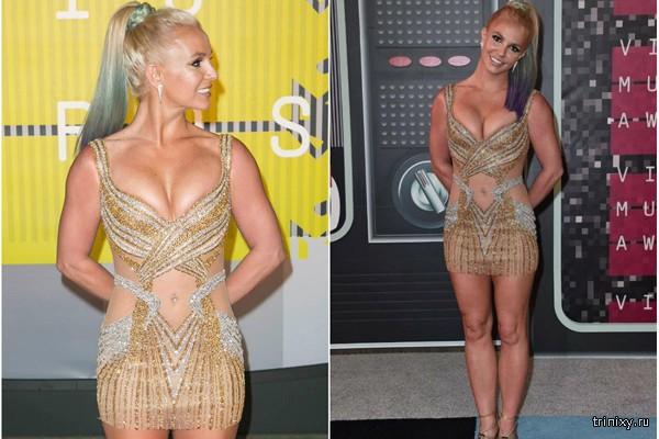 Бритни Спирс не везёт в выборе нарядов