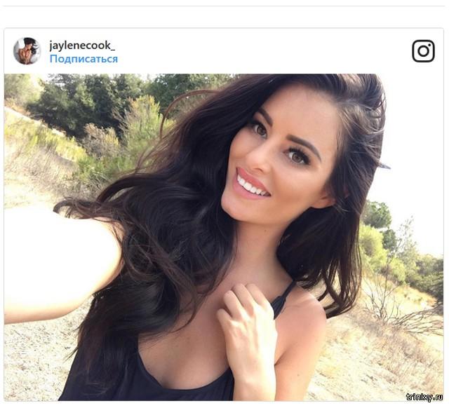 Обнаженное фото модели Playboy Джейлин Кук оскорбило народ маори (21 фото)