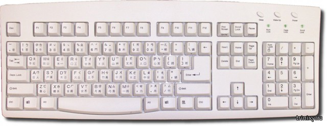 Мучения китайских операторов ПК или как выглядит настоящая клавиатура из КНР