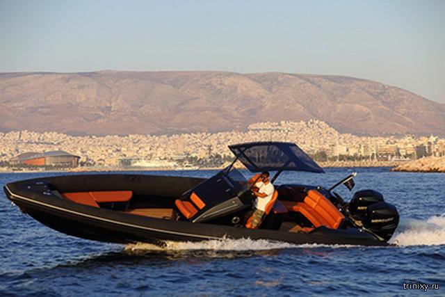 В Греции построили катер-риб, развивающий скорость в 167 км/ч