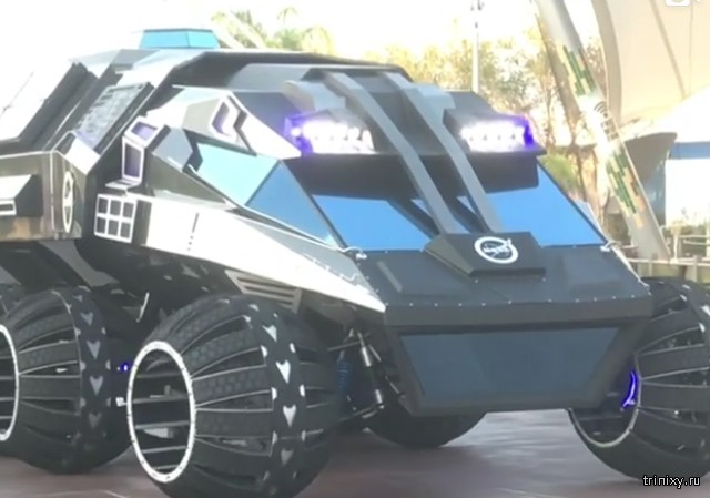 НАСА представило марсоход, напоминающий внешним видом