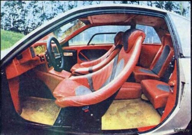 Необычный самодельный автомобиль