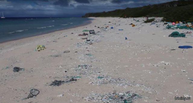 Хендерсон - остров мусора в Тихом океане