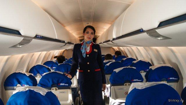 С какой целью при посадке и взлете самолета отключают освещение в салоне?