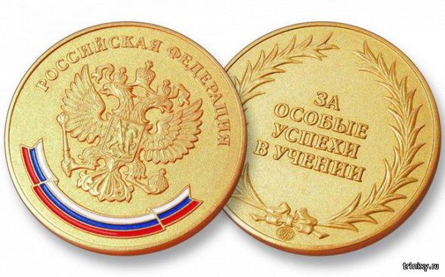Интересные факты о школьных медалях