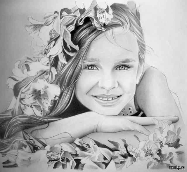 Потрясающие рисунки карандашом художника-самоучки