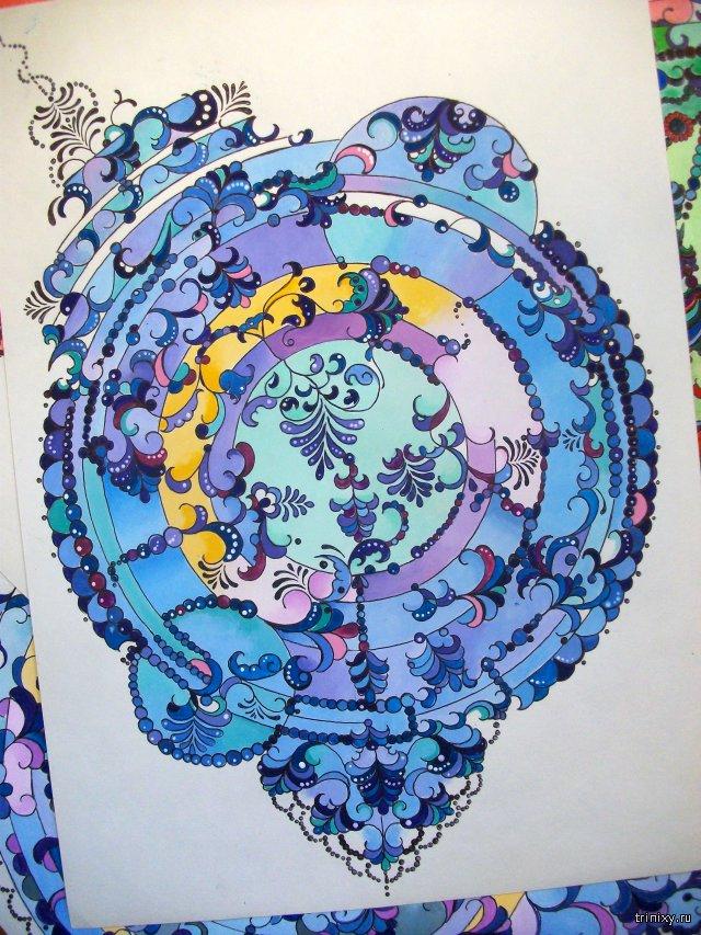 Красивые акварельные рисунки Вероники Щеголевой