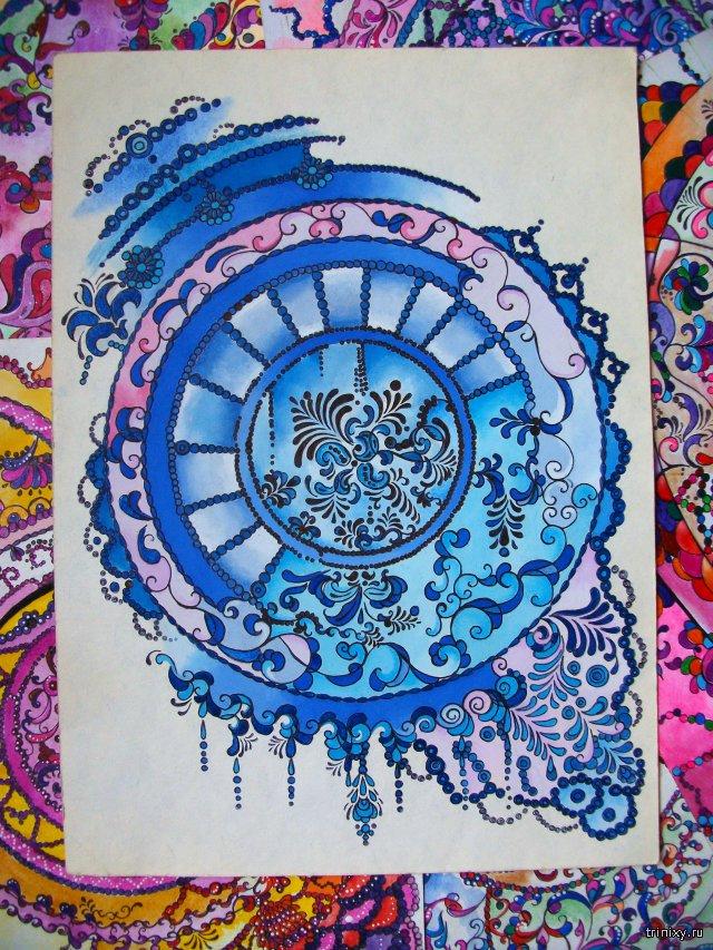Нежные работы художницы Вероники Щеголевой
