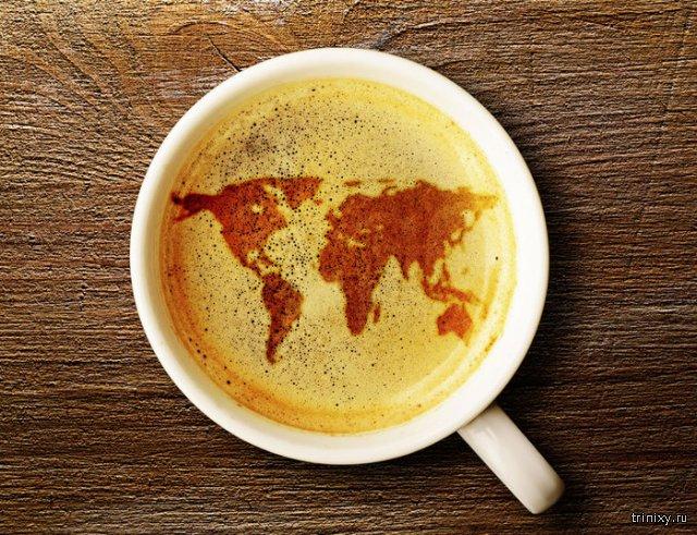 Названия кофейных напитков и что входит в их состав