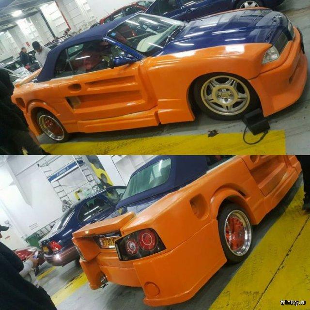 Модифицированное BMW