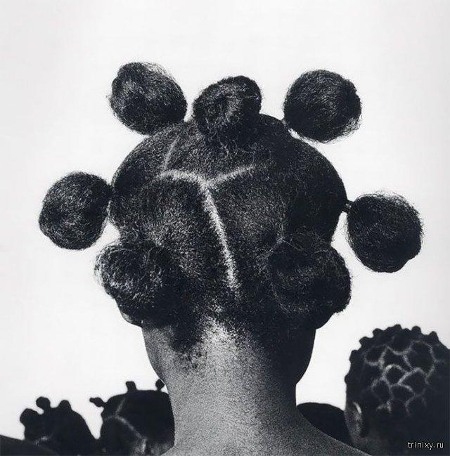 Необычные прически африканок сделанные полвека назад
