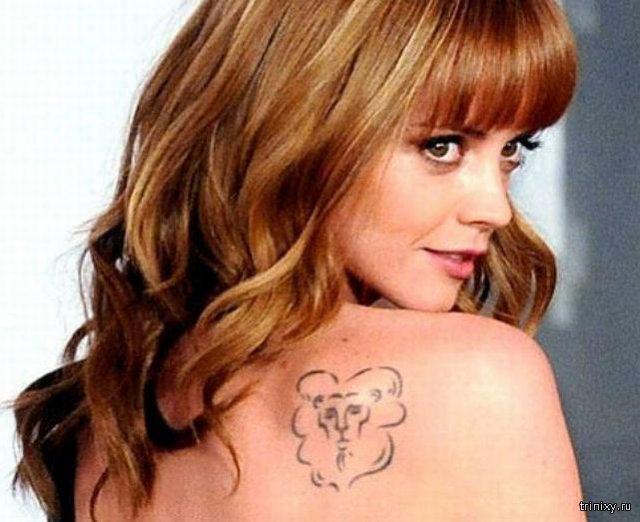 Самые неудачные татуировки звезд