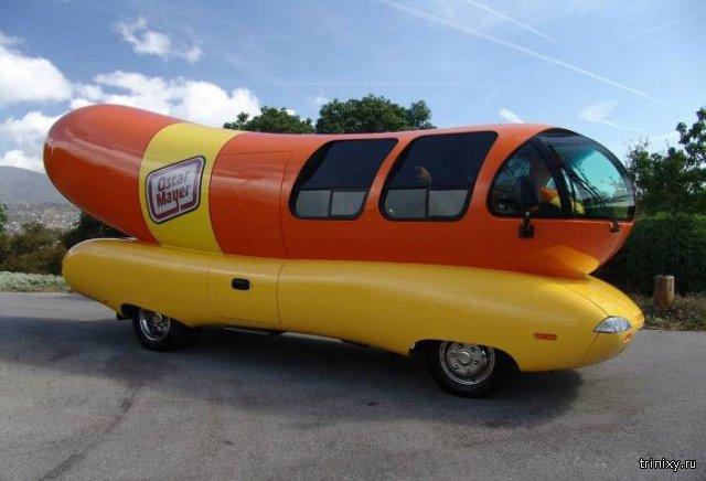 Автомобиль хот-дог