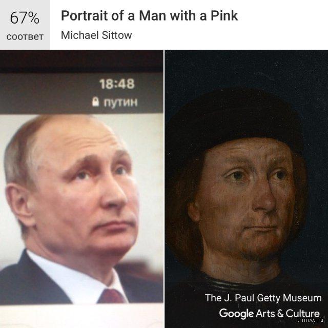На кого похожи политики по версии Google