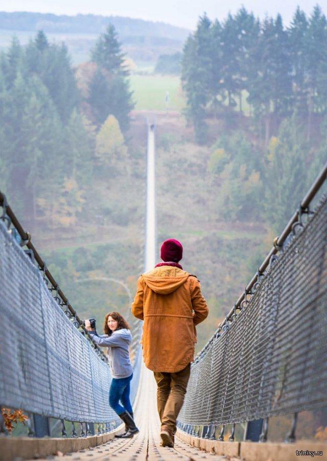 Атмосферный мост в Германии