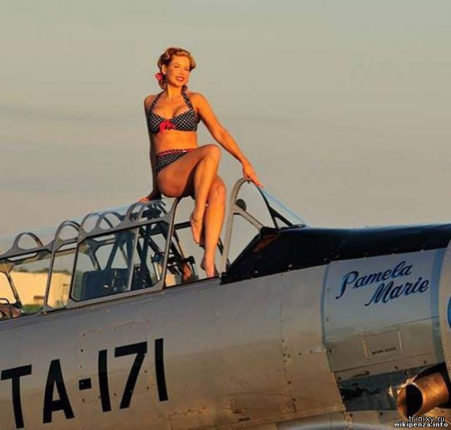 Девушки и самолеты Второй мировой войны