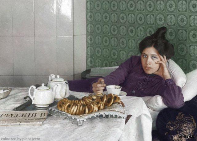 История России начала ХХ века в цвете