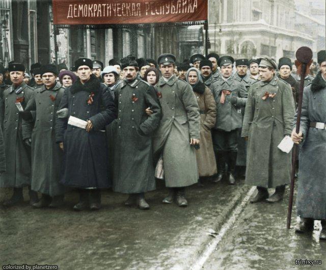 История России начала ХХ века в цвете. Колоризация фото