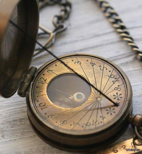 Забытые аксессуары: карманные часы