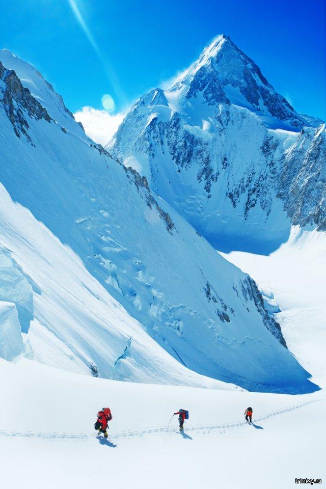 Про восхождение на гору Гашербрум II  в Пакистане...