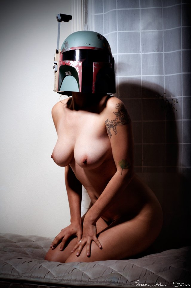 Topless female stormtrooper parsons breast naked