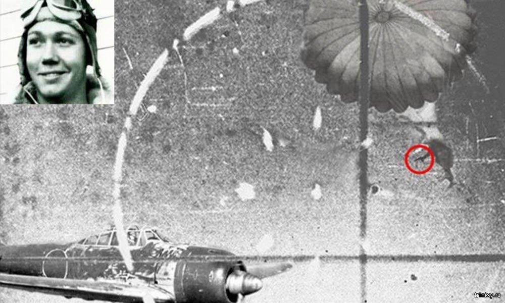 Оуэн Баггетт - единственный пилот, который смог сбить вражеский истребитель в воздухе из автомата, спускаясь в этот момент на парашюте