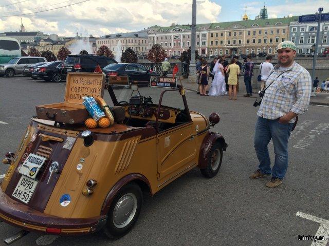 На инвалидке в Кремль