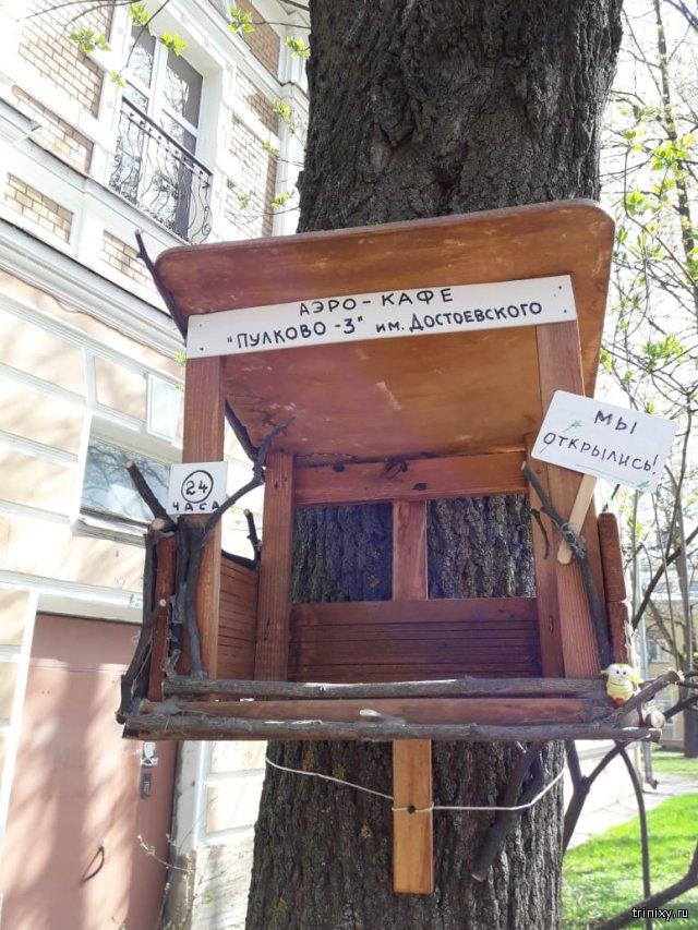Пушкинская креативная кормушка