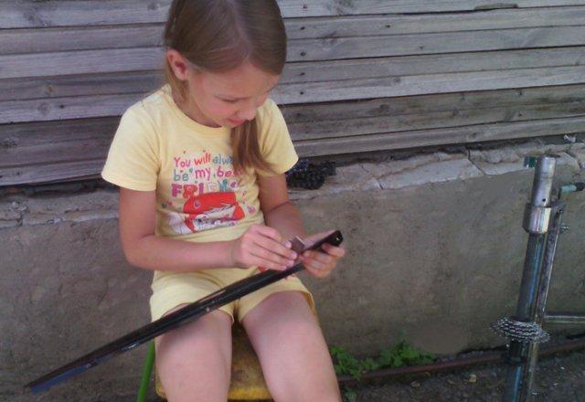 Веломобиль для ребенка своими руками
