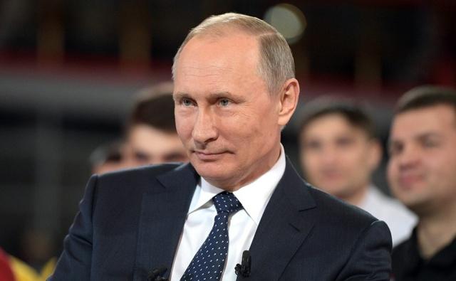 В Интернете продается визитка Путина