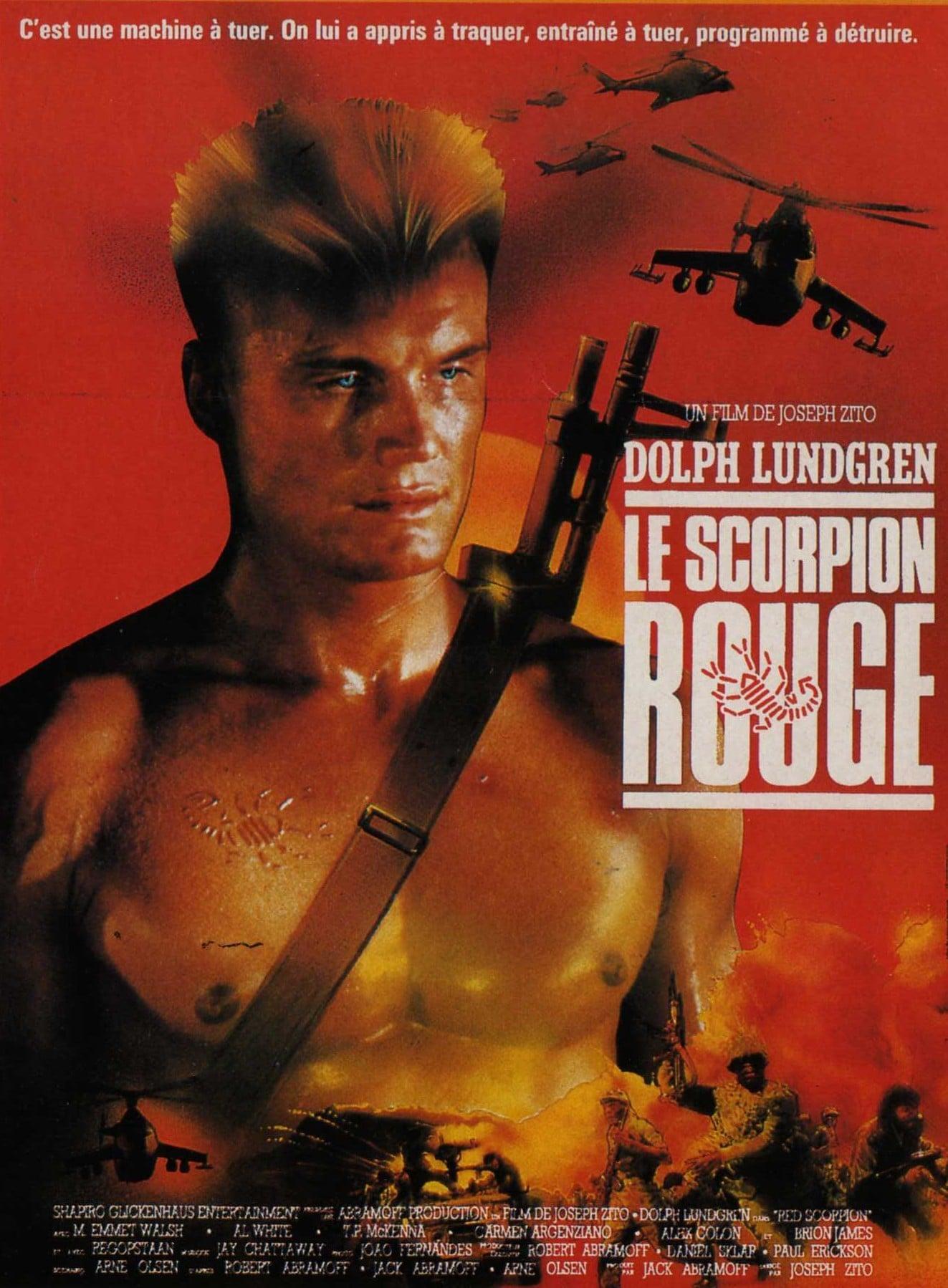 Подборка плакатов с героями боевиков 80-х - 90-х годов
