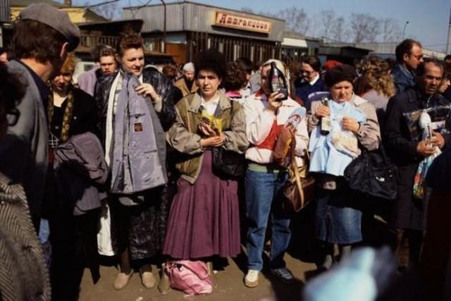 80-90-е годы в подборке архивных снимков