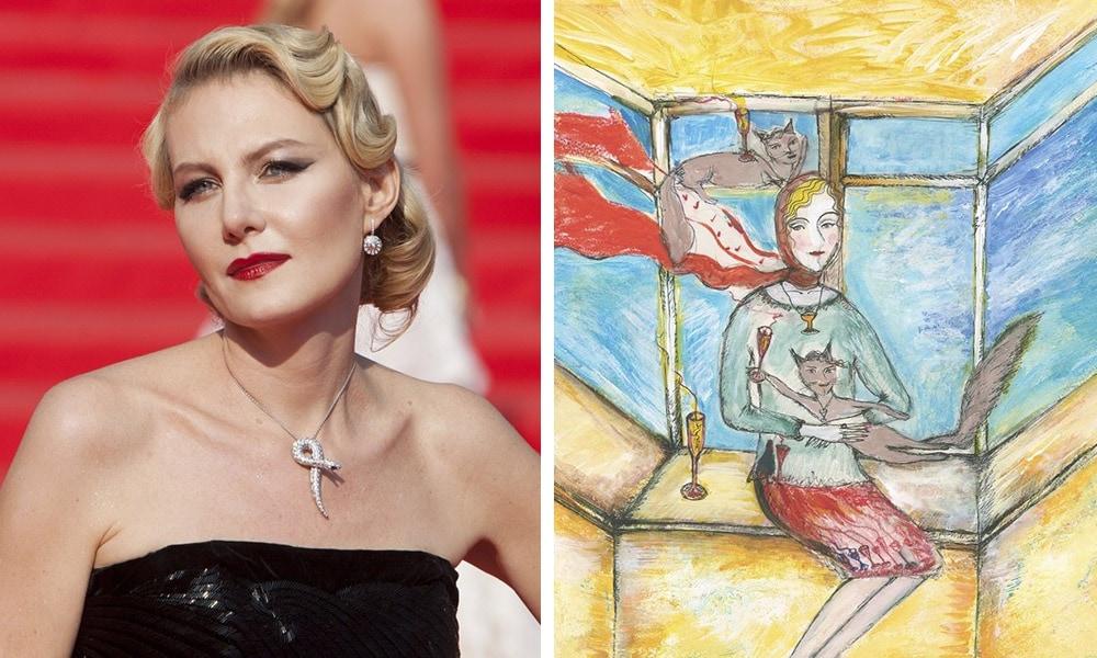 Знаменитости, которые оказались талантливыми художниками