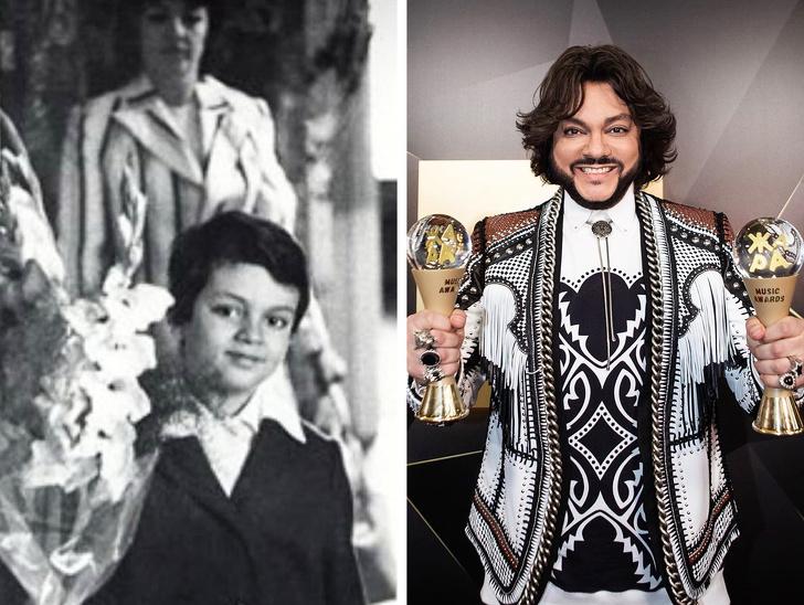 Как российские знаменитости выглядели в школьные годы