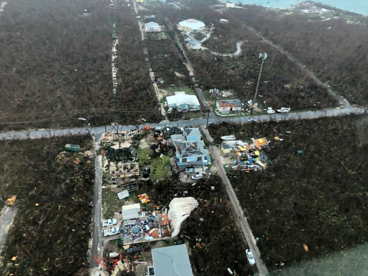 Масштабные последствия урагана