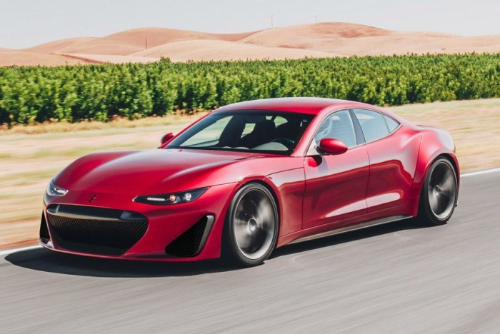 Drako GTE: электрокар мощнее Bugatti Veyron