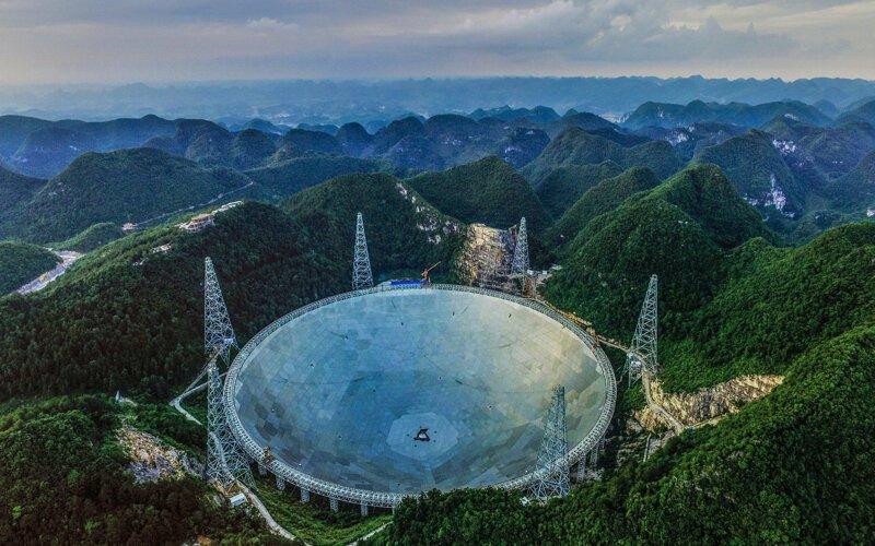 Китайским астрономам удалось записать загадочные радиосигналы из космоса