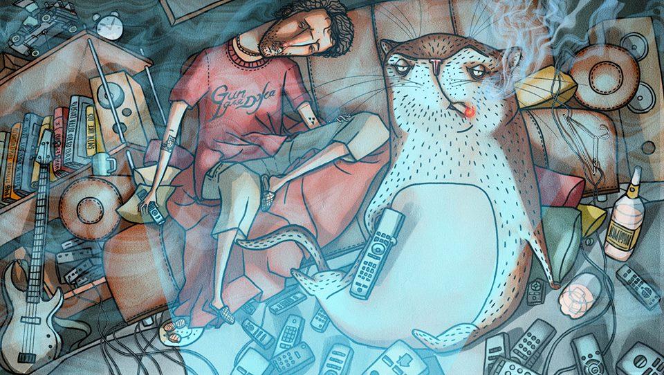 Фантастическая Россия в иллюстрациях художника из Красноярска