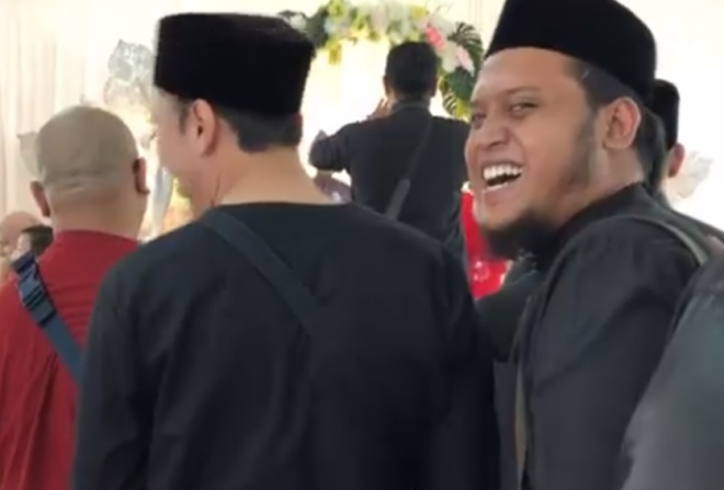 Парень на свадьбе друзей встретил своего двойника