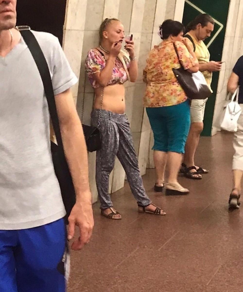 Дивные обитатели метрополитена