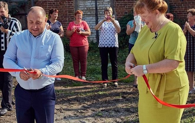 В Тверской области была торжественно открыта мусорная площадка