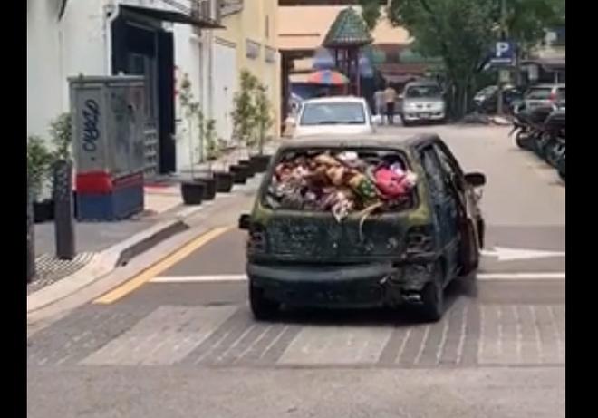 Машина, восставшая из ада - главное, что едет