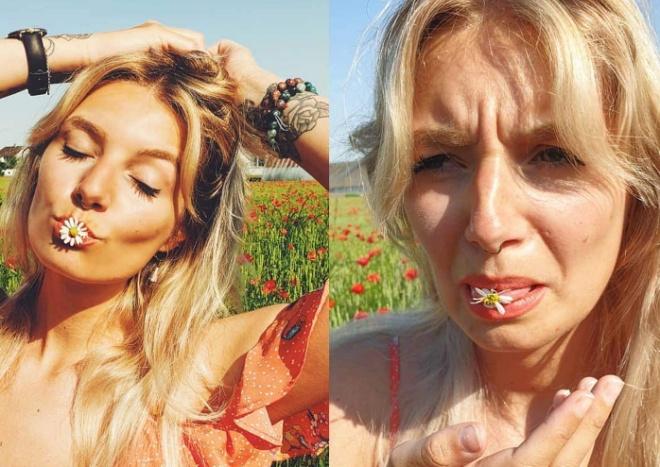 Девушка из Швейцарии сравнила обычную жизнь и то, какой её показывают в Инстаграме